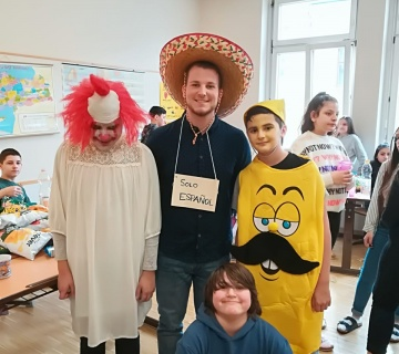 Fasching in der EMS